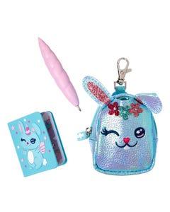 Smiggle Bunny Notebook Keyring