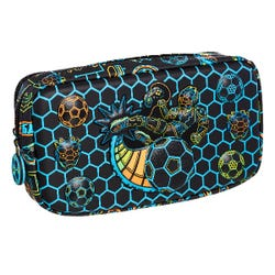Smiggle Black Graphic Pocket Pencil Case - Far Away Collection