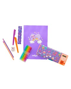 Smiggle Treats Stationery Set with Pop-out Calculator