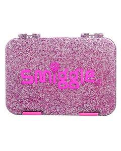Smiggle Pink Glitter Bento Box