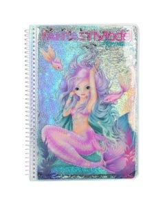 Fantasy Model Colouring Book Mermaid