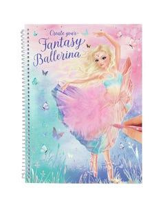 Create Your Fantasy Model  Colouring Book Ballet