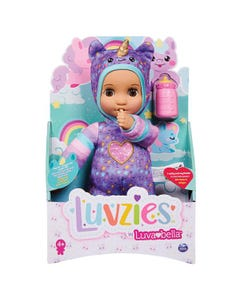 Luvzies By Luvabella, 28cm Cuddly Baby Doll With Bottle Accessory - Assortment