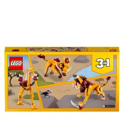 LEGO Creator 3 in 1 Wild Lion Building Set 31112