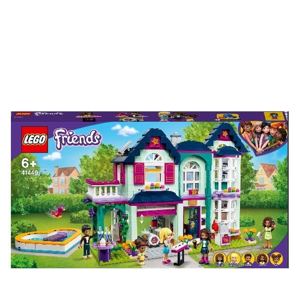 LEGO Friends Andreas Family House Playset 41449