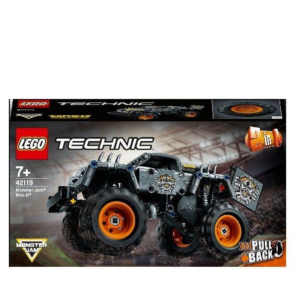 LEGO Technic Monster Jam Max D Truck Toy 42119