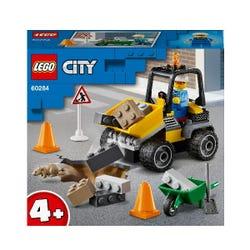LEGO City Great Vehicles Roadwork Truck Toy 60284