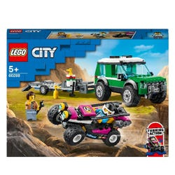 LEGO City Race Buggy Transporter Toy Truck 60288