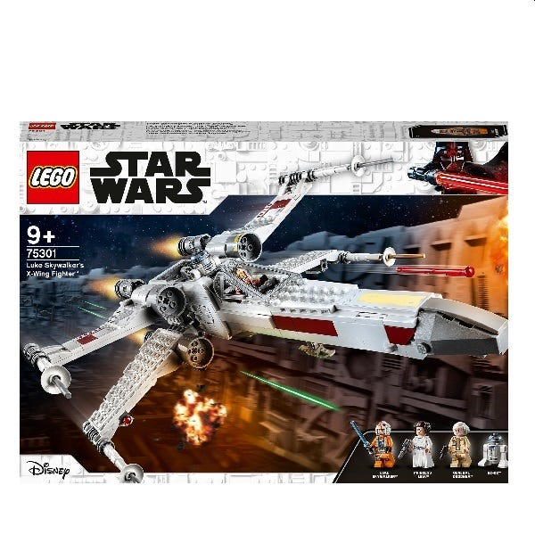 LEGO Star Wars Skywalkers X-Wing Fighter Toy 75301