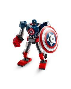 LEGO Marvel Avengers Captain America Mech Toy 76168