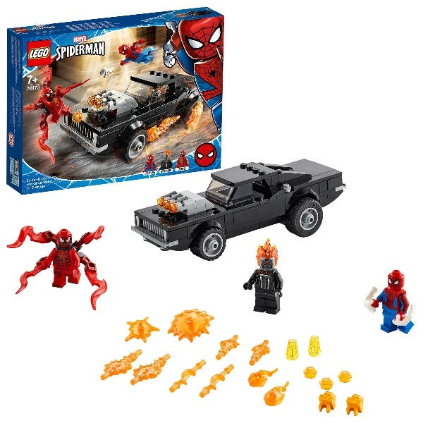 LEGO Marvel Spider Man Ghost Rider & Carnage Toy 76173