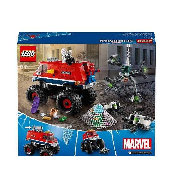 LEGO Marvel Spider Man Monster Truck Mysterio Toy 76174