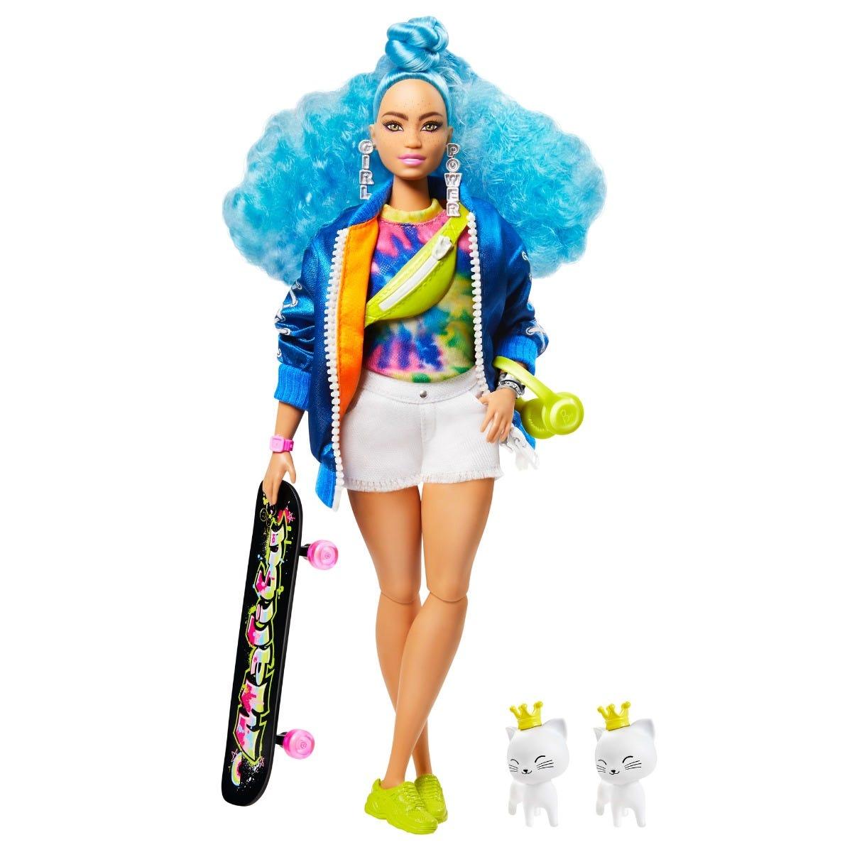 Barbie Extra Blue Hair