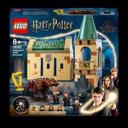 LEGO 76387 Harry Potter Hogwarts: Fluffy Encounter Castle Toy Building Set