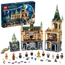 LEGO 76389 Harry Potter Hogwarts Chamber of Secrets Modular Castle Toy with The Great Hall