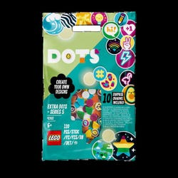 LEGO 41932 DOTS Extra DOTS ? Series 5 Collectible Tiles for Bracelets and Room D'cor