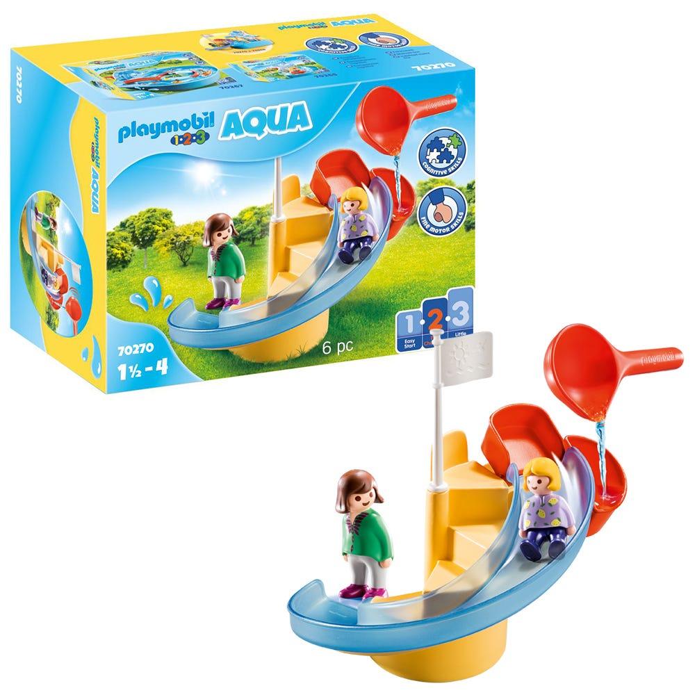 Playmobil 1.2.3 70270 AQUA Water Slide For 18+ Months