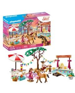 Dreamworks Spirit: Untamed 70694 Miradero Festival By Playmobil