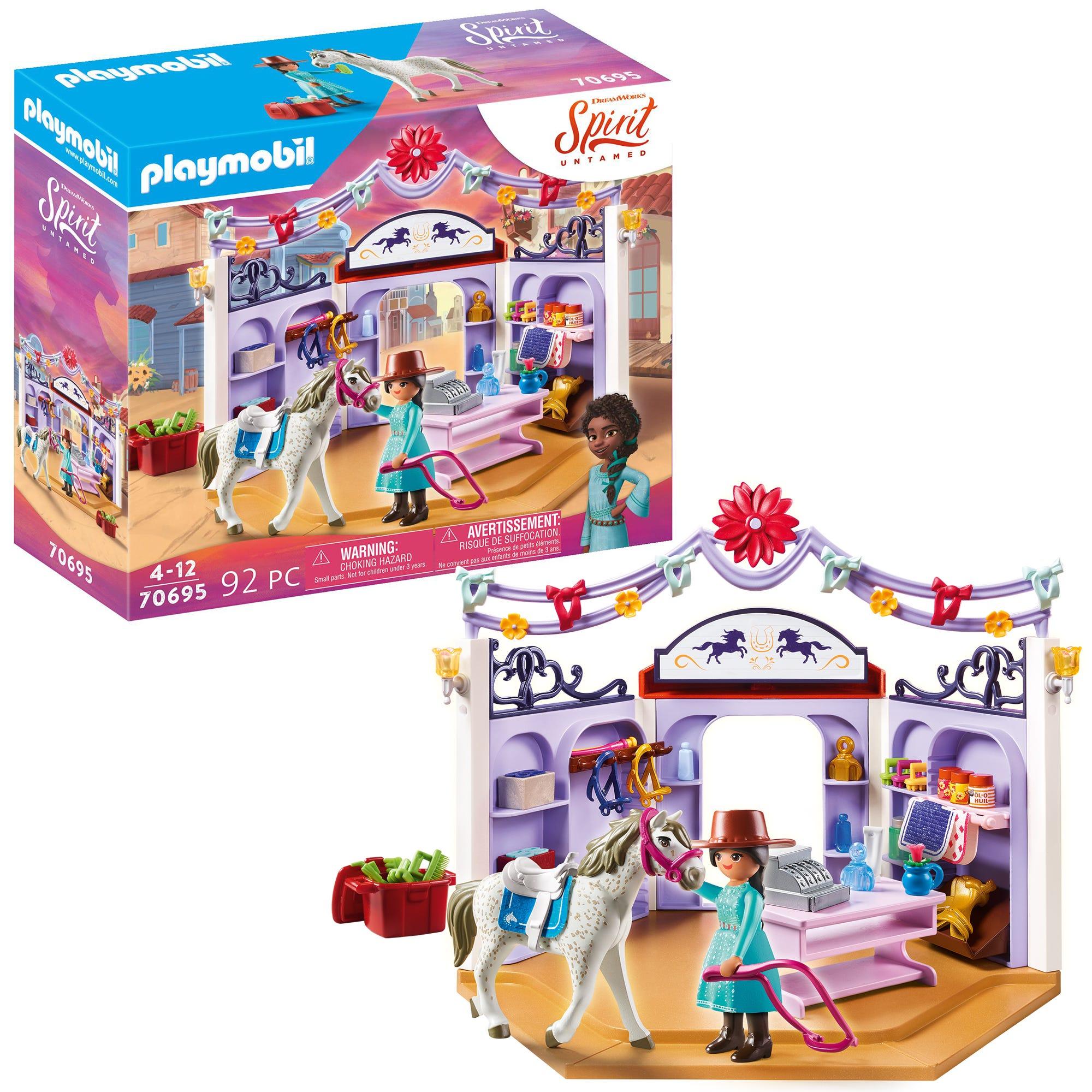 Dreamworks Spirit: Untamed 70695 Miradero Tack Shop By Playmobil