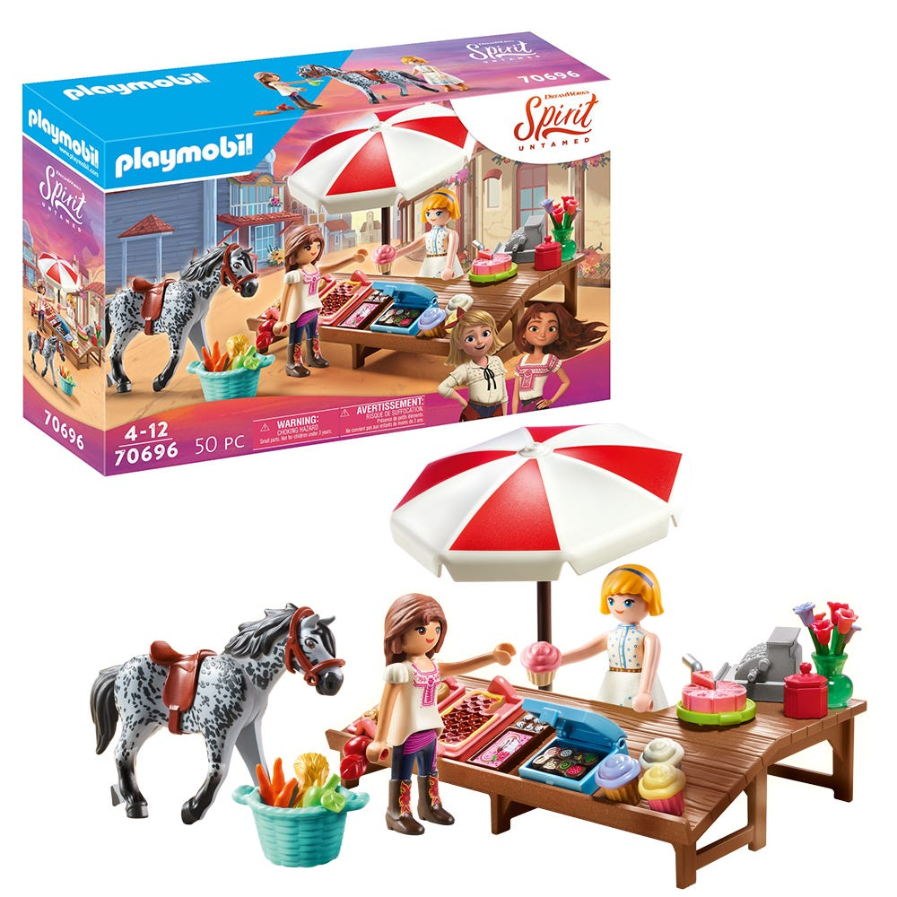 Dreamworks Spirit: Untamed 70696 Miradero Candy Stand By Playmobil