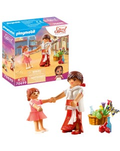 Dreamworks Spirit: Untamed 70699 Young Lucky & Mom Milagro By Playmobil