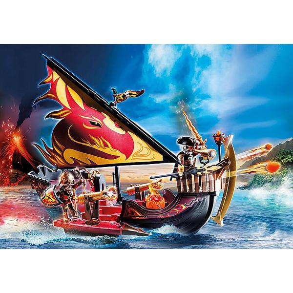 Playmobil 70641 Novelmore Burnham Raiders Fire Ship