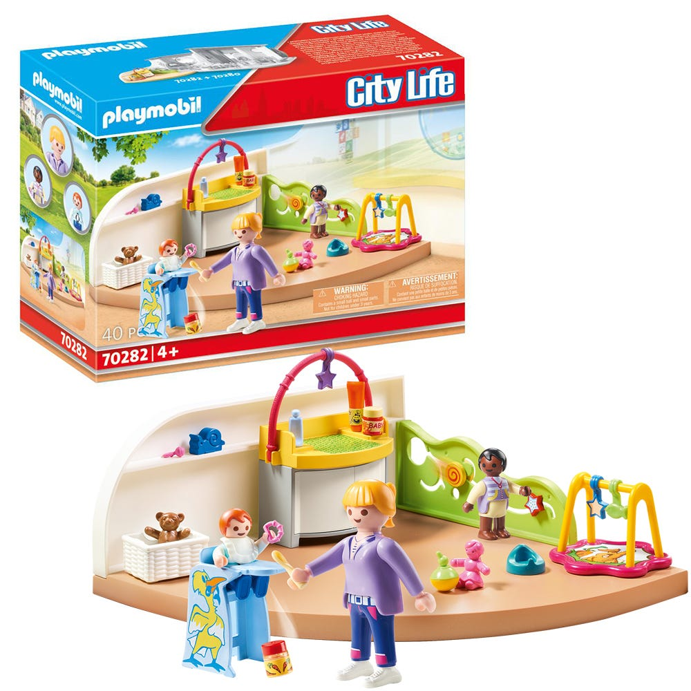 Playmobil 70282 City Life Pre School Toddler Room