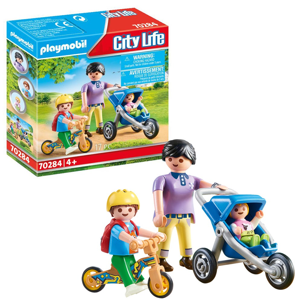Playmobil 70284 City Life Pre School Mother With Children