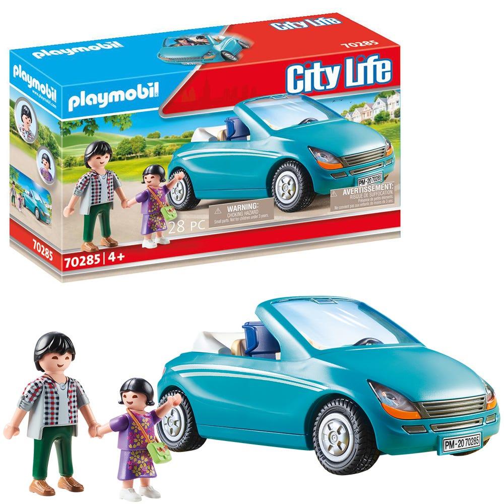 Playmobil 70285 City Life Pre School Family With Car