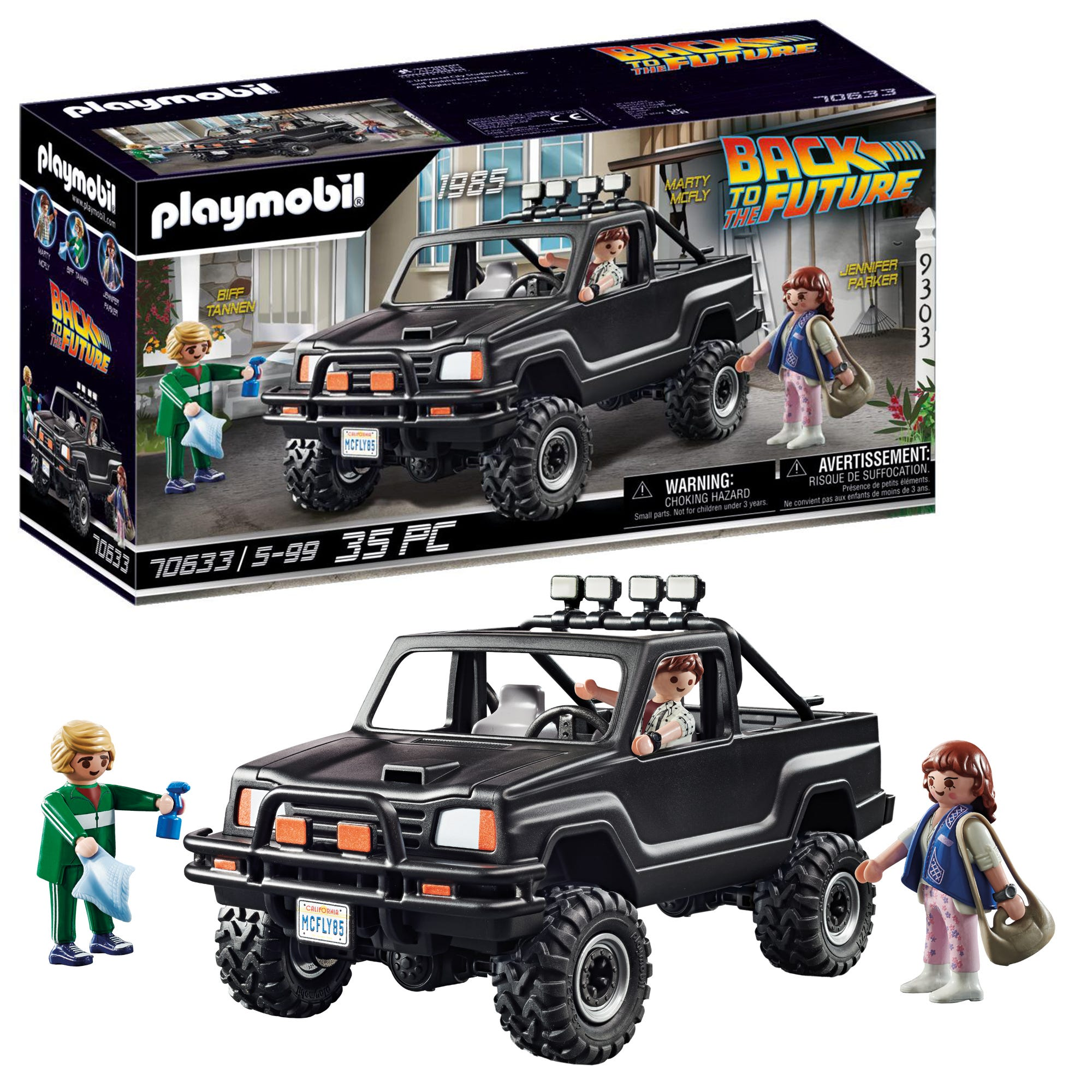 Playmobil 70633 Back To The Future Marty�???s Pickup Truck