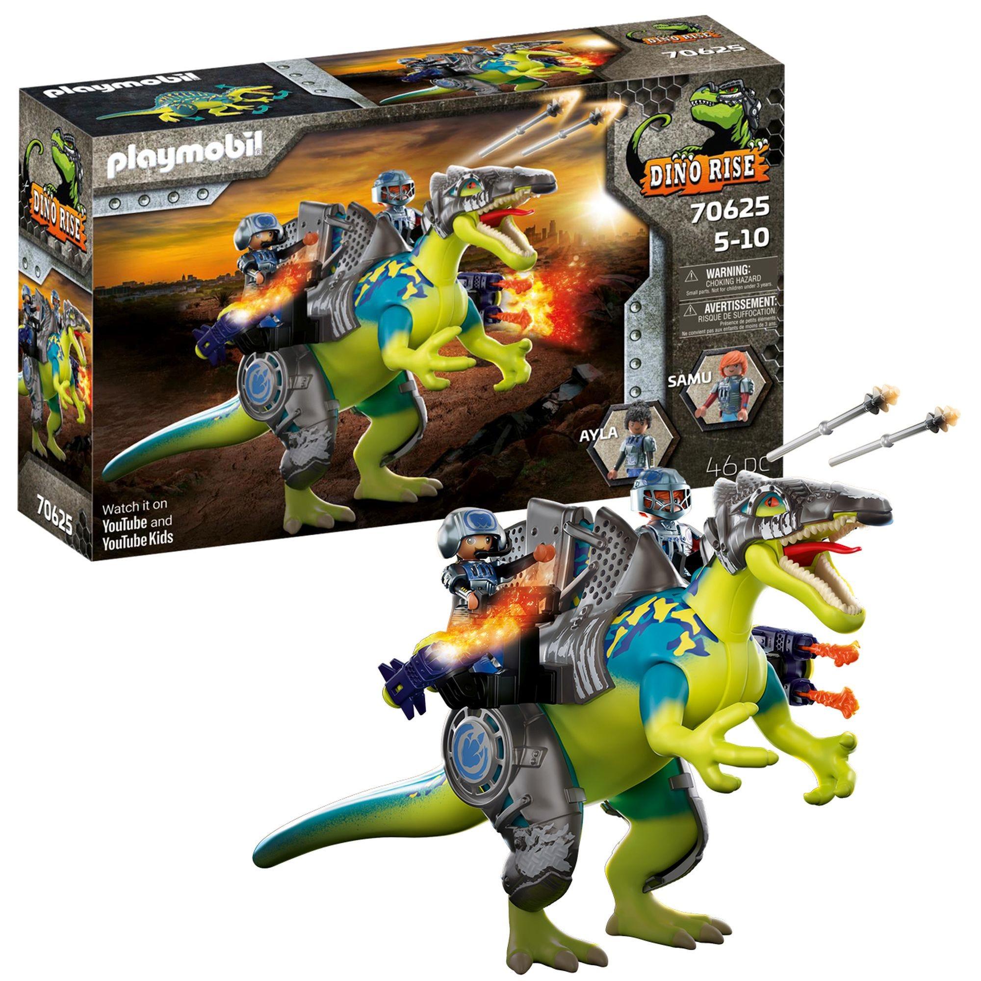 Playmobil 70625 Dinos Spinosaurus: Double Defense Power