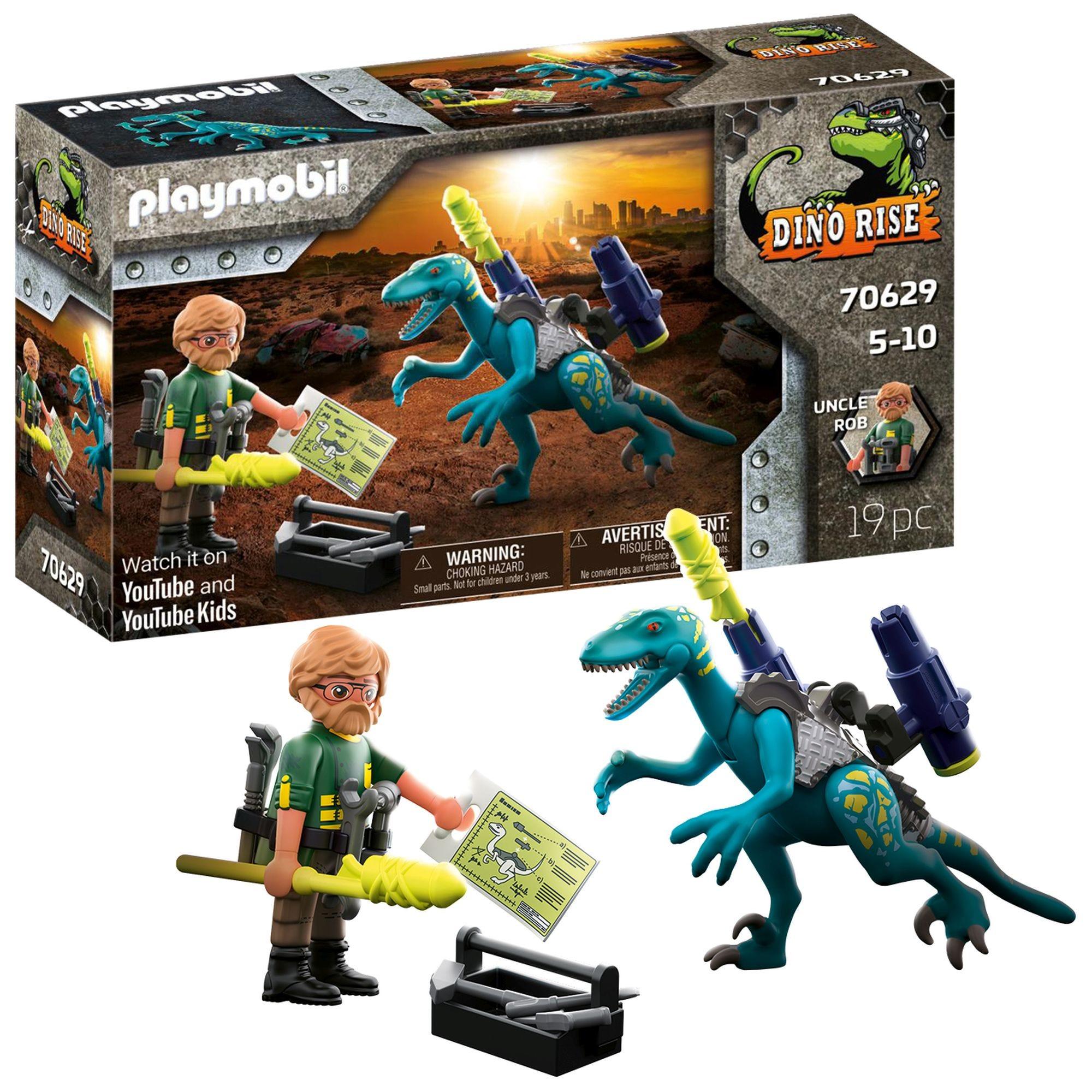 Playmobil 70629 Dino Rise Deinonychus: Ready for Battle