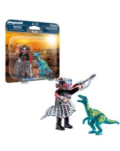 Playmobil 70693 DuoPack Velociraptor with Dino Catcher