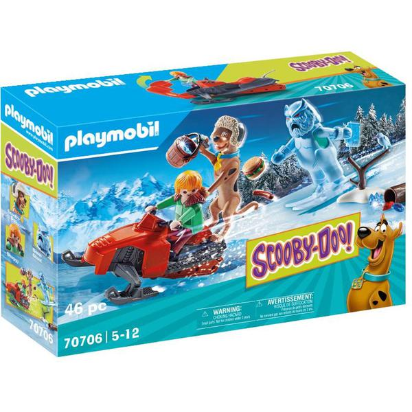 Playmobil 70706 SCOOBY DOO! Adventure With Snow Ghost