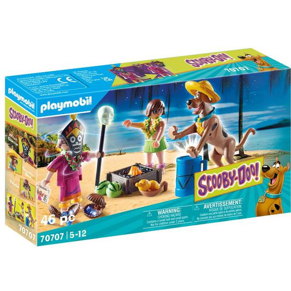 Playmobil 70707 SCOOBY DOO! Adventure With Witch Doctor