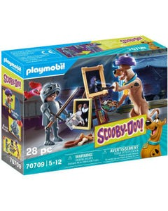 Playmobil 70709 SCOOBY-DOO! Adventure with Black Knight