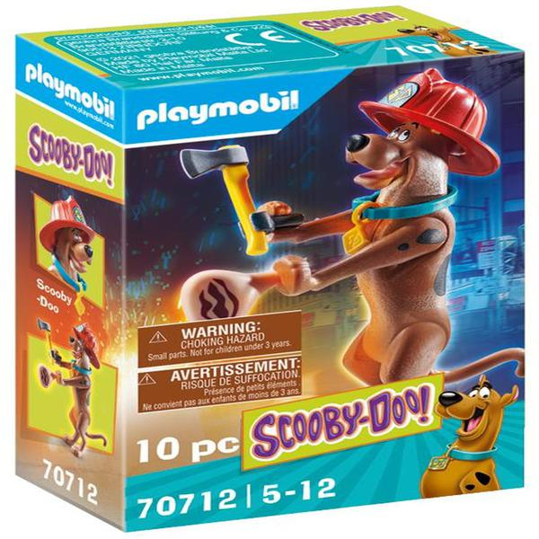 Playmobil 70712 SCOOBY DOO! Collectible Firefighter Figure