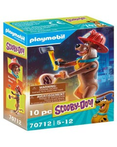 Playmobil 70712 SCOOBY-DOO! Collectible Firefighter Figure