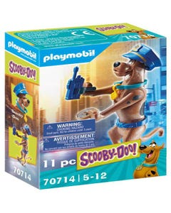 Playmobil 70714 SCOOBY-DOO! Collectible Police Figure
