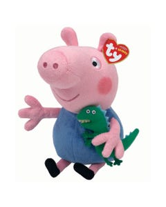 TY George Pig Beanie - Peppa Pig