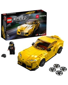 LEGO 76901 Speed Champions Toyota GR Supra Collectible Sports Car with Racing Driver