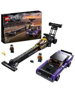 LEGO 76904 Speed Champions Mopar Dodge//SRT Top Fuel Dragster & 1970 Dodge Challenger T/A Muscle Car