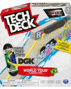 Tech Deck Build-A-Park World Tour, Ramp Set with Signature Fingerboard - Assortment