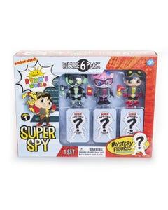 Ryan's World Super Spy Figure 6pk