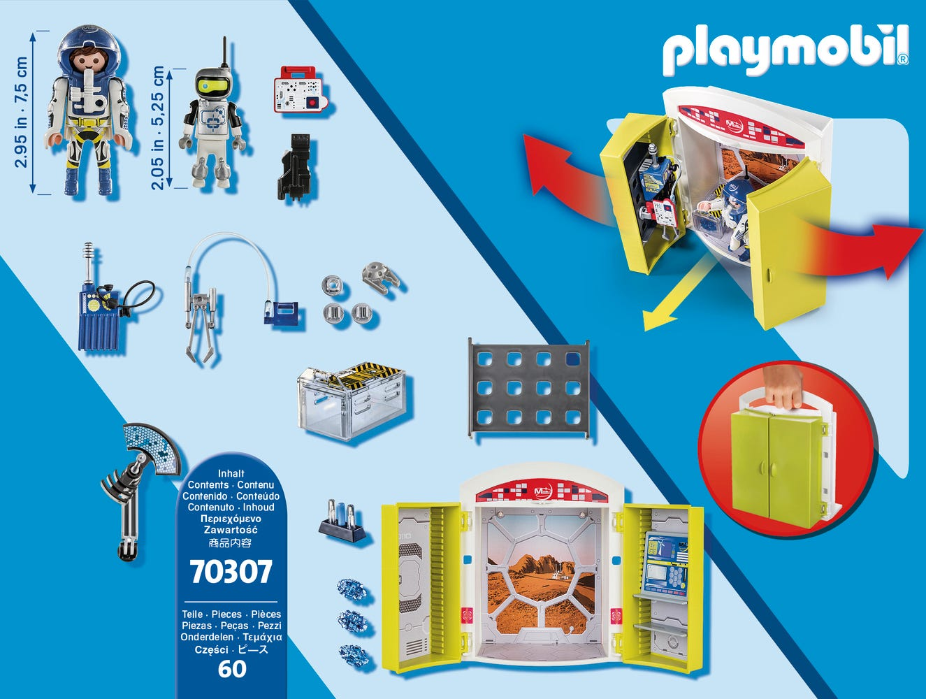 Playmobil 70313 Sports And Action Multisports Carry Case