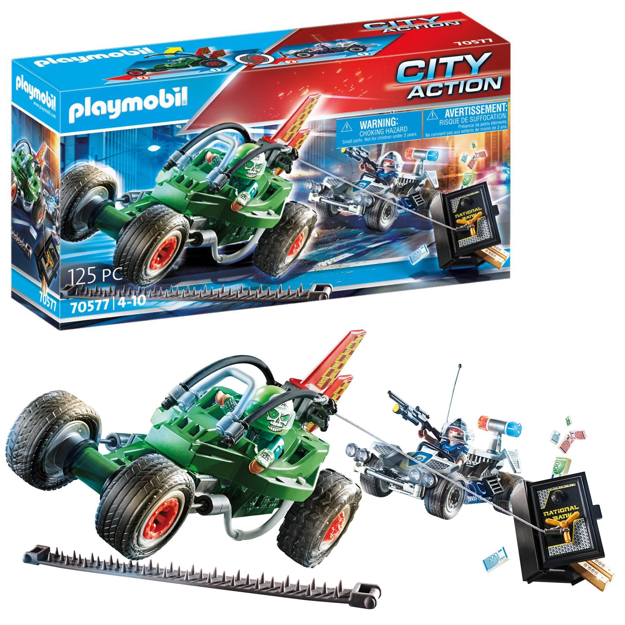 Playmobil 70577 City Action Police Go Kart Escape