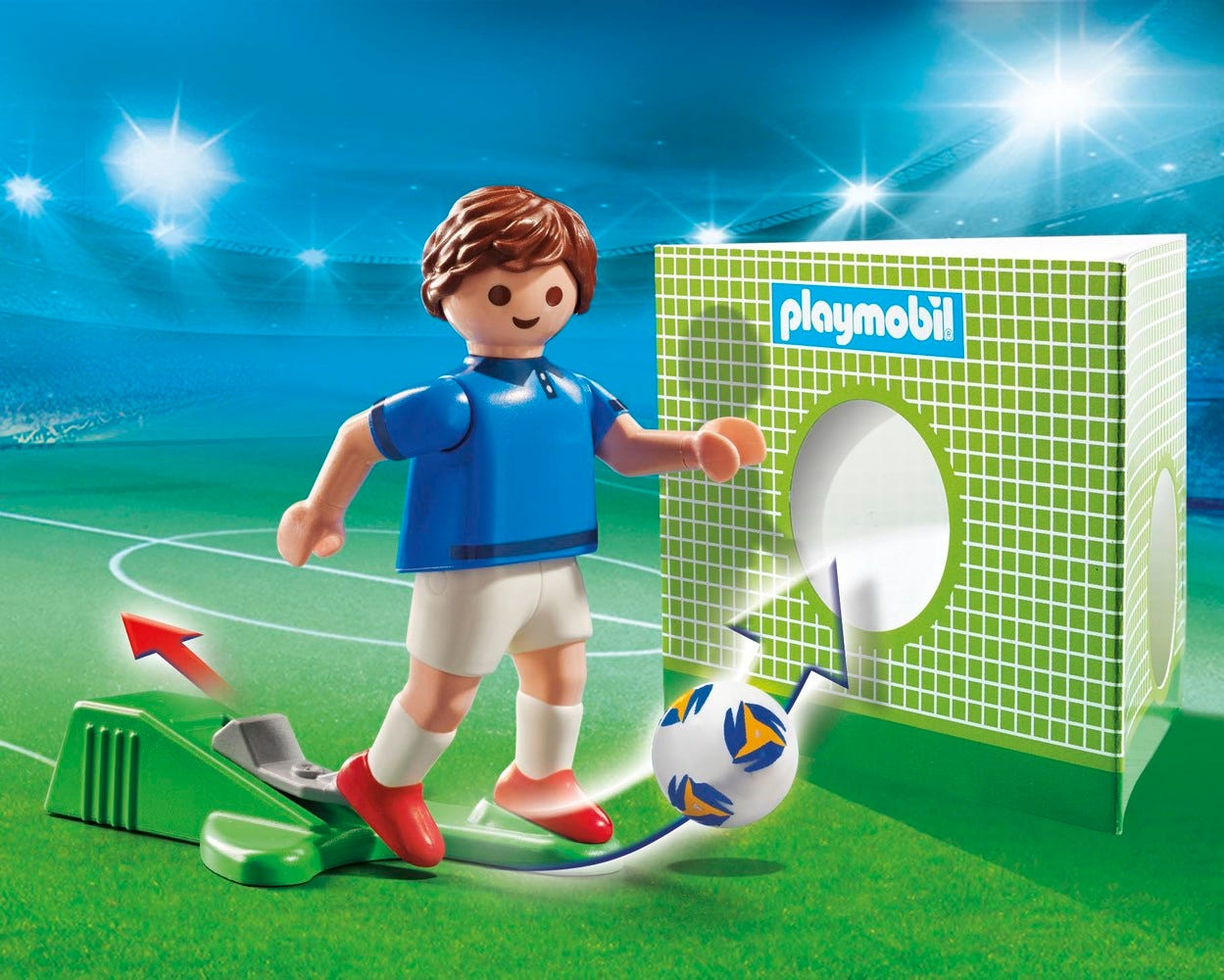 Playmobil 70481 Sports & Action Football National Player France B