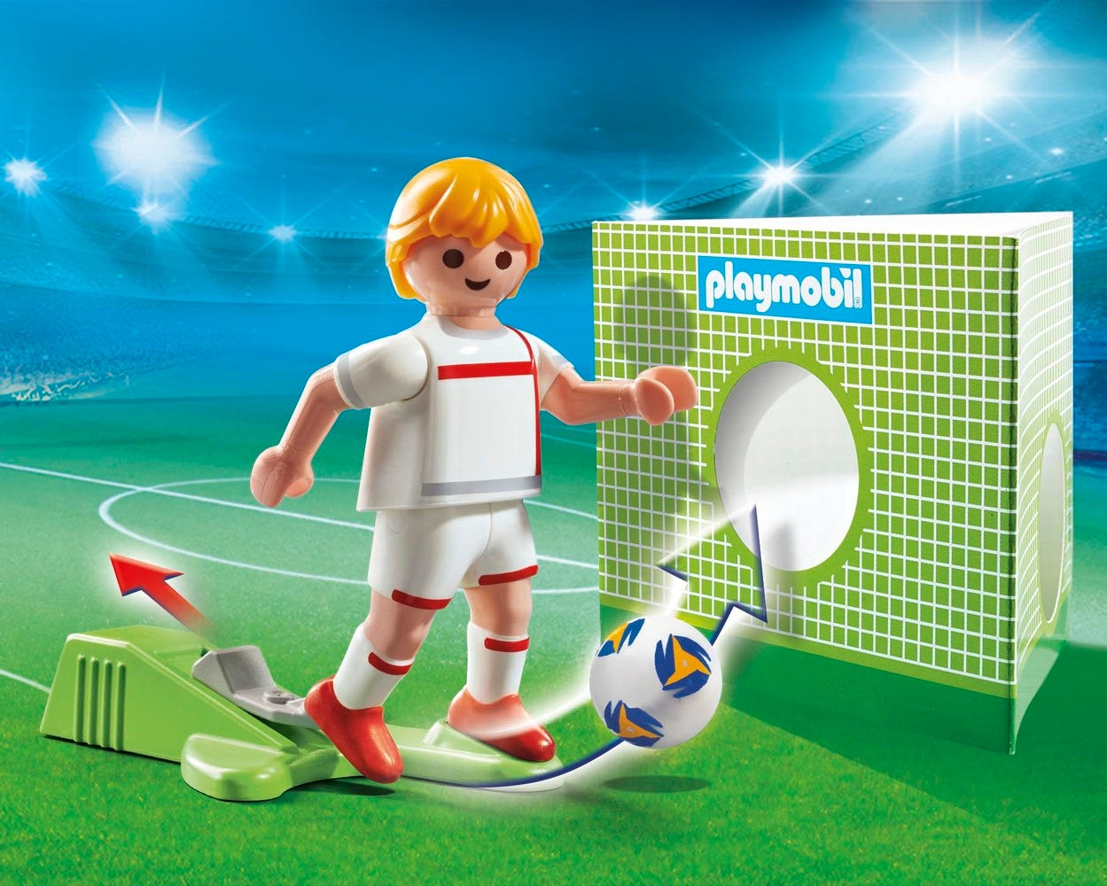 Playmobil 70485 Sports & Action Football National Player Italy