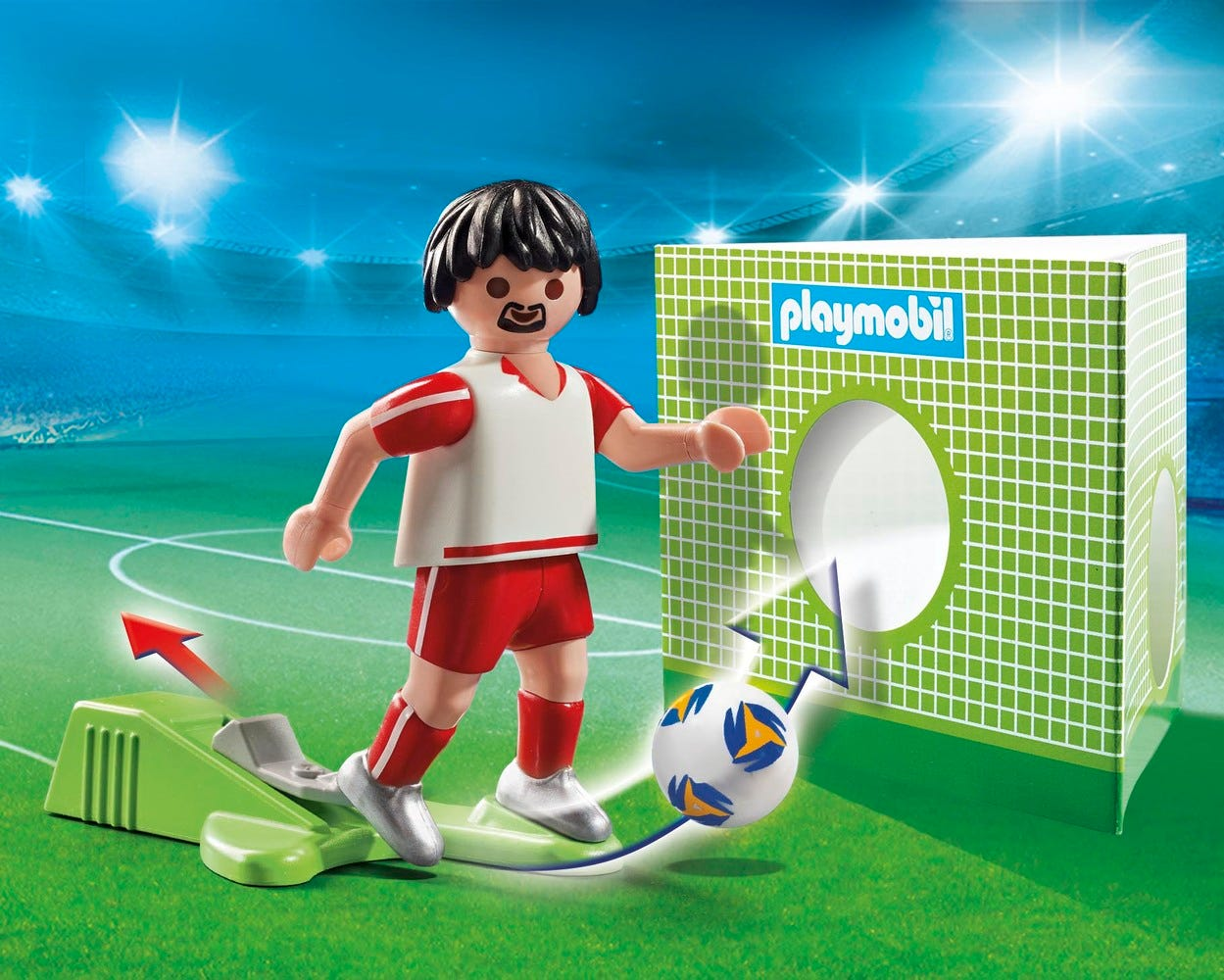 Playmobil 70487 Sports & Action Football National Player Netherlands