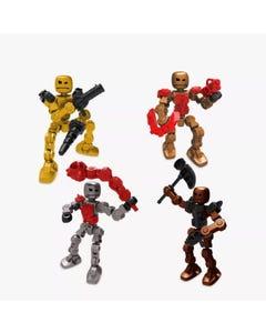 KlikBot 8 Heroes & Villains Assortment